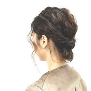 ヘアアレンジ 大人かわいい 簡単ヘアアレンジ ショート ヘアスタイルや髪型の写真・画像 ヘアスタイルや髪型の写真・画像