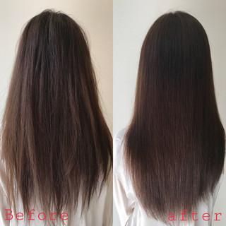 髪質改善 ナチュラル 髪質改善トリートメント デート ヘアスタイルや髪型の写真・画像 ヘアスタイルや髪型の写真・画像