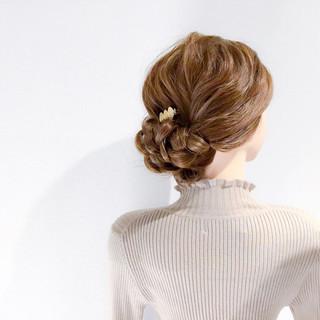ヘアアレンジ 上品 結婚式 ロング ヘアスタイルや髪型の写真・画像