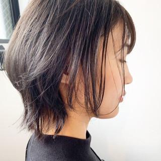 ショートボブ ショートヘア ウルフカット ボブ ヘアスタイルや髪型の写真・画像