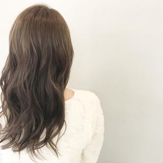 ロング ナチュラル 秋 外国人風カラー ヘアスタイルや髪型の写真・画像
