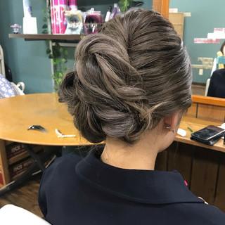デート 成人式 結婚式 セミロング ヘアスタイルや髪型の写真・画像