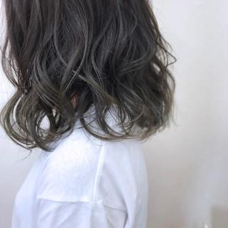 ゆるふわ 大人かわいい ミディアム 透明感 ヘアスタイルや髪型の写真・画像