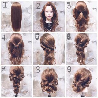 編み込み ヘアアレンジ 簡単ヘアアレンジ ショート ヘアスタイルや髪型の写真・画像 ヘアスタイルや髪型の写真・画像