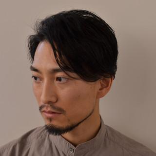 ナチュラル ボーイッシュ メンズ ショート ヘアスタイルや髪型の写真・画像