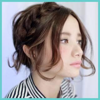 ストリート モテ髪 ミディアム 春 ヘアスタイルや髪型の写真・画像