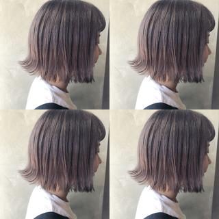 簡単ヘアアレンジ ナチュラル ボブ 韓国ヘア ヘアスタイルや髪型の写真・画像 ヘアスタイルや髪型の写真・画像
