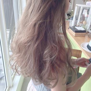 アッシュ ロング 外国人風 ストリート ヘアスタイルや髪型の写真・画像