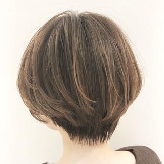 ショートボブ ショート ミニボブ ベリーショート ヘアスタイルや髪型の写真・画像