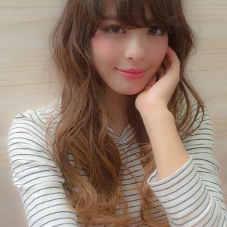くせ毛風 ピュア ガーリー 大人かわいい ヘアスタイルや髪型の写真・画像