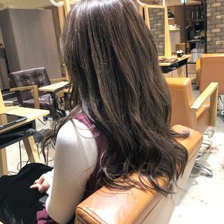 透明感カラー 大人ロング イルミナカラー ロング ヘアスタイルや髪型の写真・画像