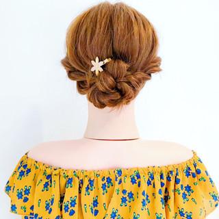 涼しげ ヘアアレンジ ロング デート ヘアスタイルや髪型の写真・画像