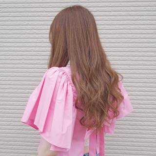デート ロング 愛され モテ髪 ヘアスタイルや髪型の写真・画像