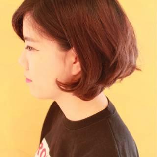 前髪なし 前下がり ストリート ボブ ヘアスタイルや髪型の写真・画像 ヘアスタイルや髪型の写真・画像
