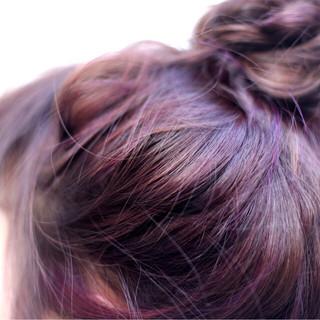 ショート 簡単ヘアアレンジ ミディアム ヘアアレンジ ヘアスタイルや髪型の写真・画像 ヘアスタイルや髪型の写真・画像