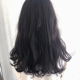 セミロング オリーブアッシュ グレージュ ヘアアレンジ ヘアスタイルや髪型の写真・画像