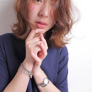 おフェロ ナチュラル カール デート ヘアスタイルや髪型の写真・画像 ヘアスタイルや髪型の写真・画像