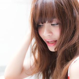 夏 ミディアム ピュア ナチュラル ヘアスタイルや髪型の写真・画像