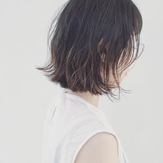 グラデーションカラー 外国人風カラー ストリート 外ハネ ヘアスタイルや髪型の写真・画像