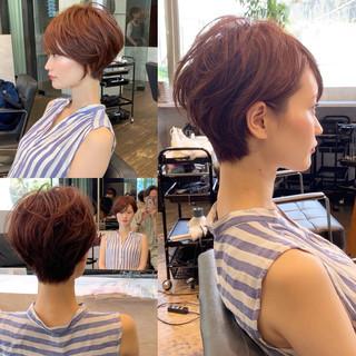 ショート 40代 辺見えみり 吉瀬美智子 ヘアスタイルや髪型の写真・画像