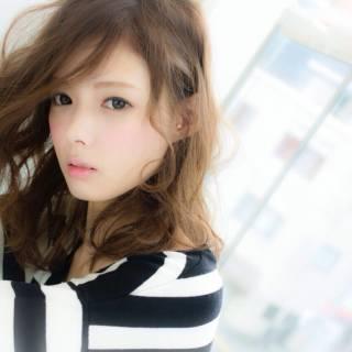 モテ髪 大人かわいい フェミニン 愛され ヘアスタイルや髪型の写真・画像