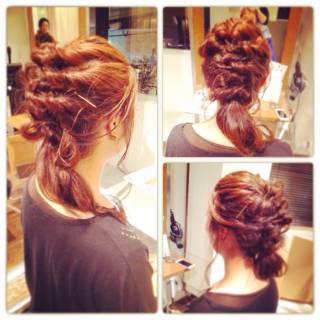 ショート ヘアアレンジ ナチュラル 簡単ヘアアレンジ ヘアスタイルや髪型の写真・画像 ヘアスタイルや髪型の写真・画像