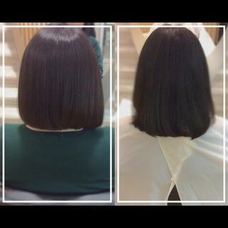 髪質改善 社会人の味方 大人ヘアスタイル 髪質改善トリートメント ヘアスタイルや髪型の写真・画像