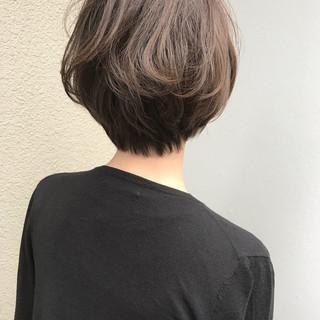 外国人風 ハイライト ナチュラル ボブ ヘアスタイルや髪型の写真・画像