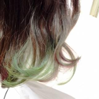 ハイトーン ブリーチ ヘアスタイルや髪型の写真・画像
