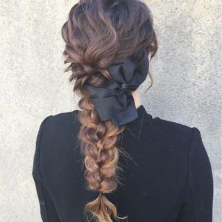 ショート 外国人風 セミロング ハーフアップ ヘアスタイルや髪型の写真・画像
