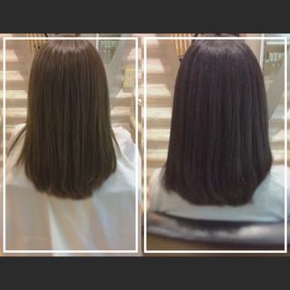 髪質改善トリートメント 艶髪 ロング ナチュラル ヘアスタイルや髪型の写真・画像
