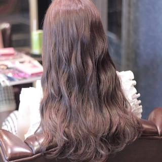 大人かわいい ストリート 外国人風 ロング ヘアスタイルや髪型の写真・画像