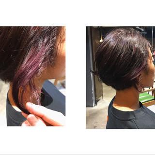ショートヘア 秋冬スタイル ナチュラル ショート ヘアスタイルや髪型の写真・画像