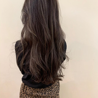 イルミナカラー アンニュイほつれヘア 外国人風 ナチュラル ヘアスタイルや髪型の写真・画像