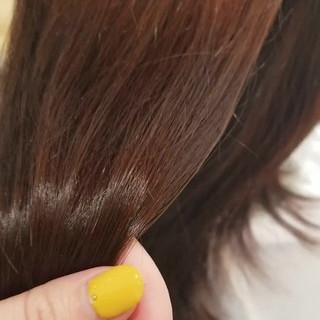 ミディアム 髪質改善トリートメント TOKIOトリートメント ナチュラル ヘアスタイルや髪型の写真・画像