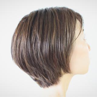ハイライト 大人女子 外国人風 ボブ ヘアスタイルや髪型の写真・画像