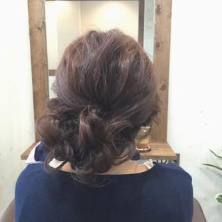セミロング ショート フェミニン 大人かわいい ヘアスタイルや髪型の写真・画像