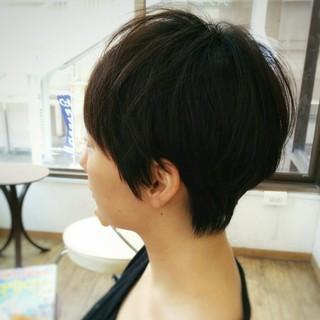 くせ毛風 大人かわいい ストレート 暗髪 ヘアスタイルや髪型の写真・画像
