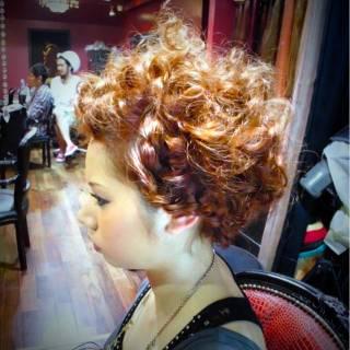 ヘアアレンジ 編み込み 大人かわいい パーティ ヘアスタイルや髪型の写真・画像