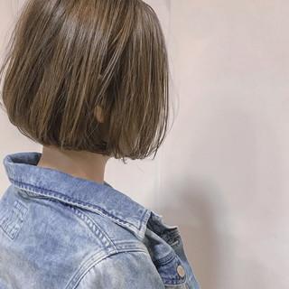 アウトドア ショート 色気 ハイライト ヘアスタイルや髪型の写真・画像