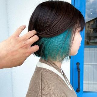 あざと 透明感カラー 圧倒的透明感 こなれ感 ヘアスタイルや髪型の写真・画像