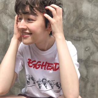 ベリーショート ミニボブ ショートボブ ショート ヘアスタイルや髪型の写真・画像