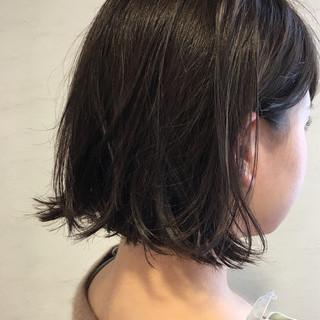 ヘアワックス アッシュ 外ハネ ウェットヘア ヘアスタイルや髪型の写真・画像