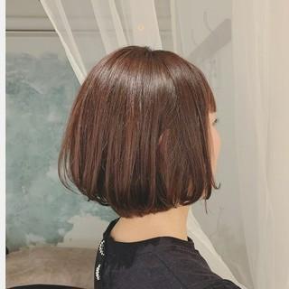 前髪あり 大人かわいい ゆるふわ ボブ ヘアスタイルや髪型の写真・画像