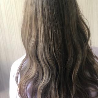 圧倒的透明感 波ウェーブ ロング 春色 ヘアスタイルや髪型の写真・画像
