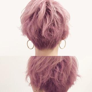 ウェットヘア かわいい ベージュ ガーリー ヘアスタイルや髪型の写真・画像