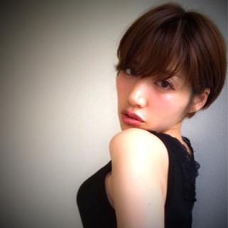 大人女子 モテ髪 小顔 ナチュラル ヘアスタイルや髪型の写真・画像