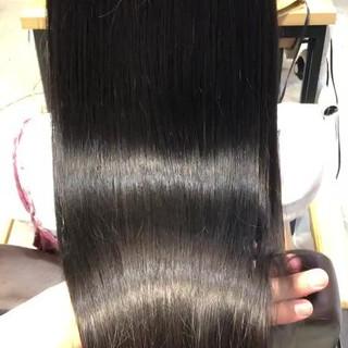 トリートメント 髪質改善トリートメント デート ナチュラル ヘアスタイルや髪型の写真・画像