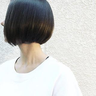 ボブ ロブ 大人女子 ナチュラル ヘアスタイルや髪型の写真・画像