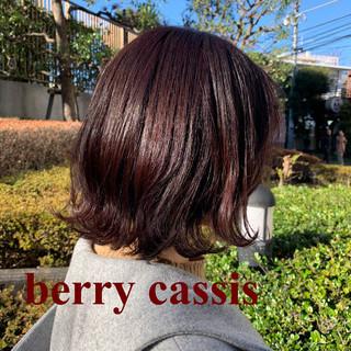 ストリート ラベンダーピンク カシスレッド ラベンダーアッシュ ヘアスタイルや髪型の写真・画像